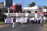 CENIDH marcha en conmemoración al día internacional de los derechos humanos