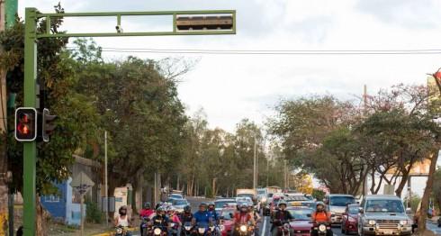 Semáforos inteligentes, Managua