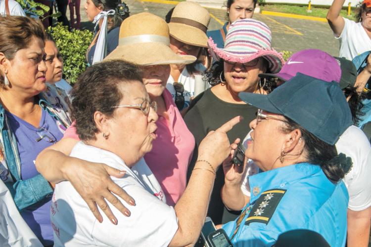 Nicaragua, mujeres, marcha de mujeres, 8 de marzo