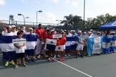 Nicaragua con buen inicio en torneo de tenis junior regional