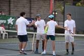 Rodrigo Pereira y Juan Ignacio Ortiz, dos jóvenes con futuro en el tenis