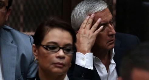 Otto Pérez Molina, Roxana Baldetti, Guatemala