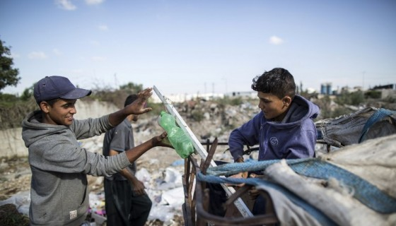 Gaza, trabajo infantil
