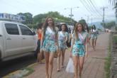 Candidatas a Miss Teen 2016 visitan asilo de ancianos