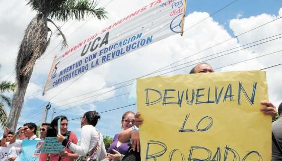 #OCupaINSS,Nicaragua,impunidad