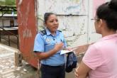CPC y Policía intentaron impedir a LA PRENSA tomar fotos y entrevistar a ciudadanos que se verificaban