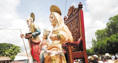 Nandaime, vigilia de Pentecostés