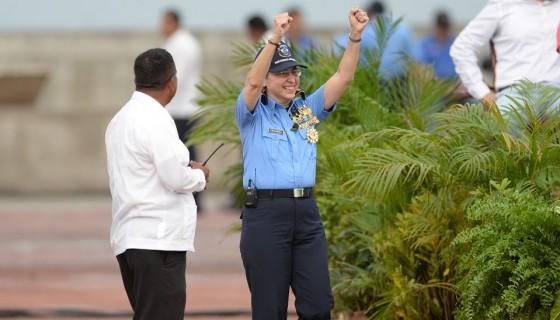 Aminta Granera, Policía Nacional
