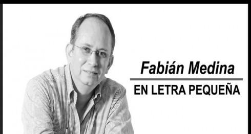 Fabián Medina, En Letra Pequeña