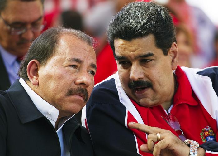 Nicolas Maduro, Daniel Ortega, Venezuela, Nicaragua