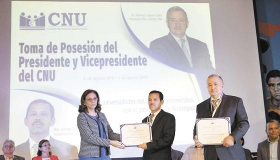 CNU, Elección, autoridades