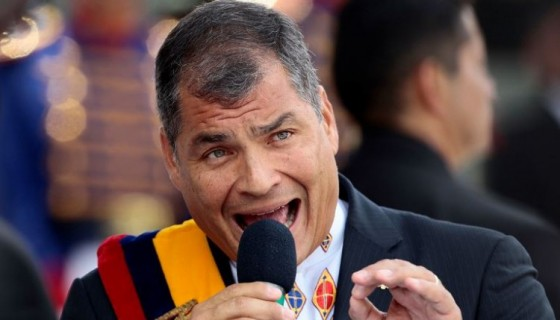 jefe del Ejército, Ecuador, Rafael Correa