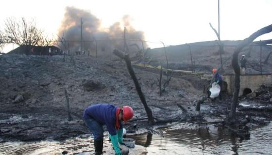 tanques de Puma Energy, incendio en tanque de Puma Energy