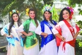 Conocé a las candidatas a Reina del Tradicional Baile de Huipil