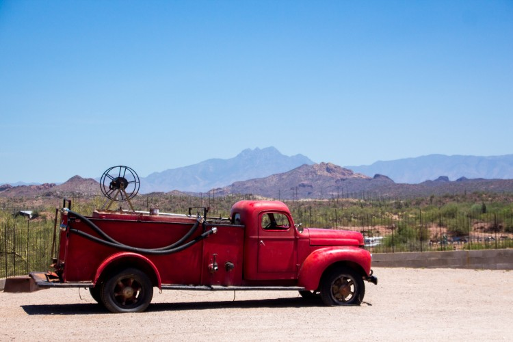 Vehículo de bomberos viejos. Imagen de carácter ilustrativo. LA PRENSA/Thinkstock.