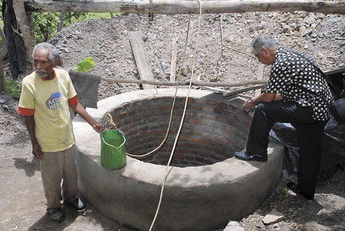 En Nicaragua existen alrededor de 5,500 acueductos rurales que abastecen a un millón de personas y una gran parte de estos están ubicados en el Corredor Seco. LA PRENSA/ARCHIVO