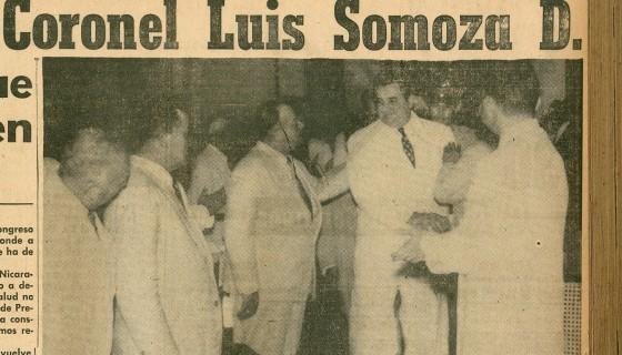 Luis Somoza Debayle, Luis Somoza, Nicaragua, Dinastía Somoza