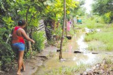 Más de 900 familias afectadas por lluvias