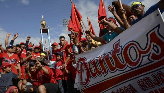 Los Dantos se coronaron en la última edición del Campeonato Nacional de Beisbol Superior. LA PRENSA/C. VALLE