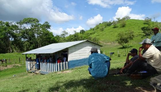 Los centros cerrados se encuentran ubicados en las zonas de Angostura Iyas, donde el Estado no tiene presencia con escuelas y profesores. LA PRENSA/ARCHIVO