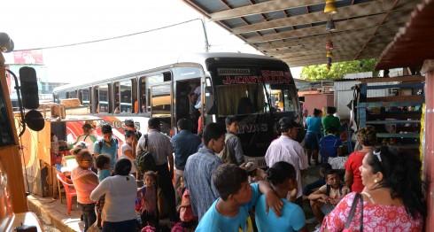 transporte interurbano, Managua