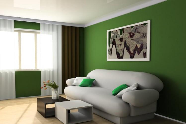 Decore su casa con el color del a o verde greenery for Pintar el frente de mi casa