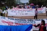 Campesinos anuncian sexta marcha nacional anticanal