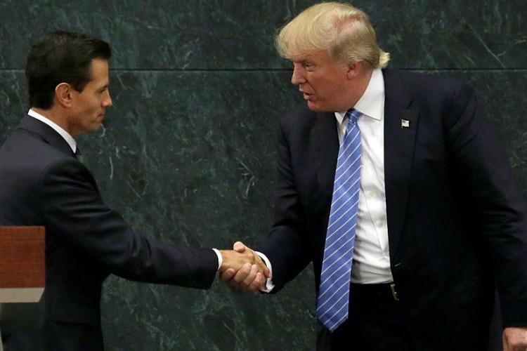 México, muro fronterizo, Donald Trump