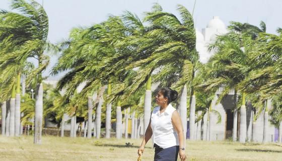 frío, Nicaragua, fuertes vientos