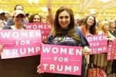 Jazmina Saavedra, la nica que cree en Trump