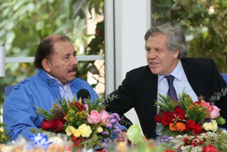 informe de la OEA, Nicaragua, Daniel Ortega