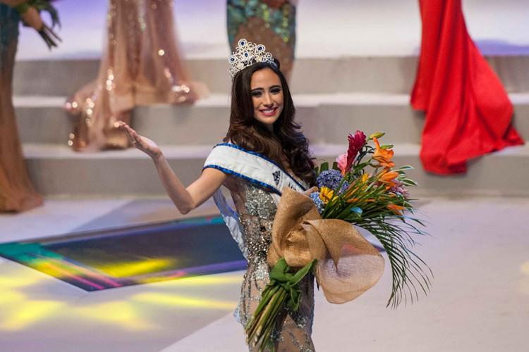Marina Jacoby Wins Miss Nicaragua 2016: Miss Nicaragua 2016 Es Marina Jacoby